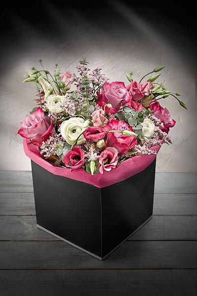 Make it a Simply Better Mother's Day and say it with a Simply Better Hand Tied Deep Purple Rose Gift Bouquet €25.