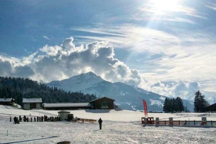 Skigebiet in Kirchdorf in Tirol – Bild des Monats Februar 2018