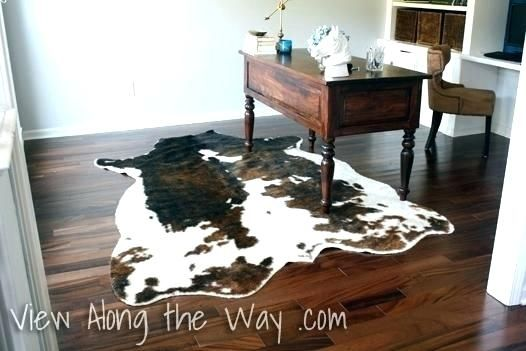 Charming Ikea Cow Rug Arts Best Of Or Faux