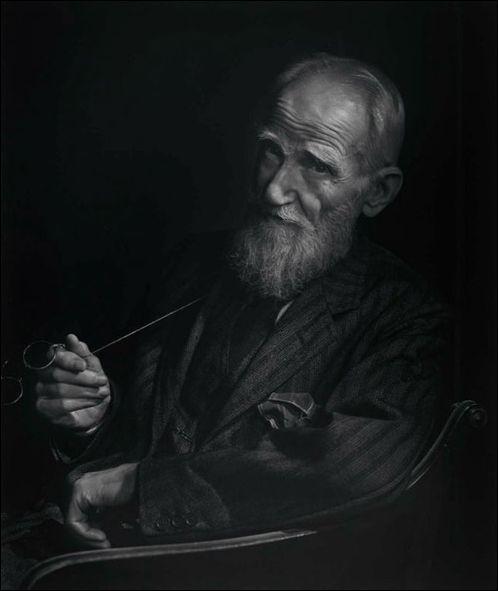 Photo Portraitist Yousuf Karsh, George Bernard Shaw portrait