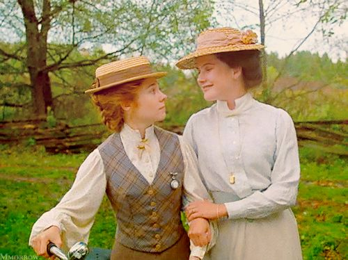 Anne Shirley And Diana Barry In Quot Anne Of Green Gables