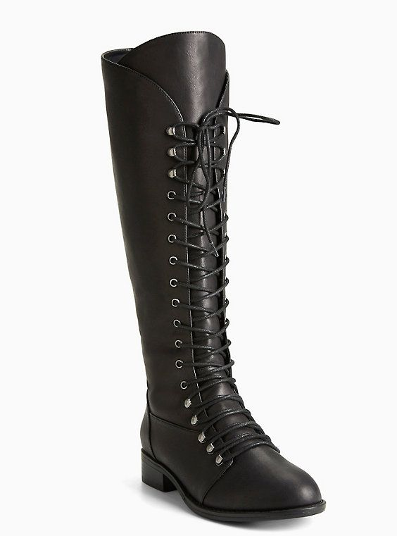 WOMEN'S NEW LOOK LONG KNEE HIGH BLACK BOOTS - SIZE 5 UK (EXCELLENT CONDITION)