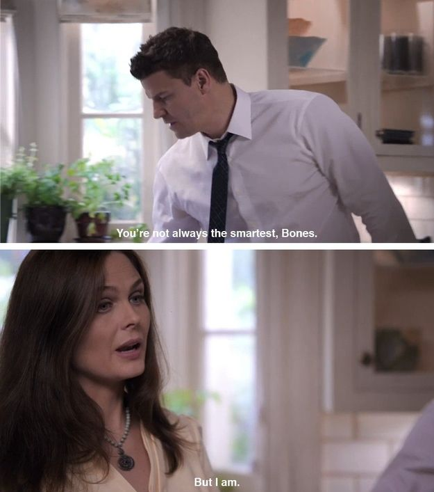 "…and totally owning it. | The 23 Best Things About ""Bones"""
