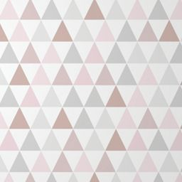 Graham & Brown Superfresco Easy Tarek Geometric Design Rose Gold Wallpaper - 10m | Wickes.co.uk