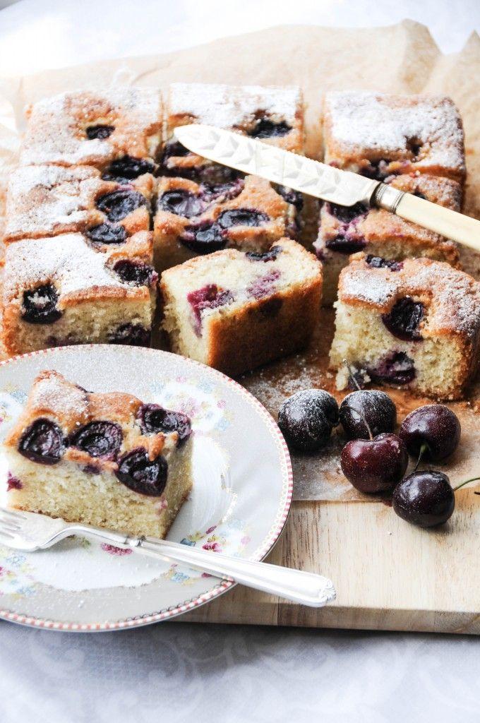 Almond Cherry Cake Recipes