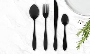 This modern and stylish cutlery set doesn't require polishing and is ideal for everyday use or for special occasions
