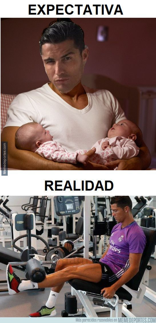 984551 - Cristiano Ronaldo dando cariño a sus gemelos
