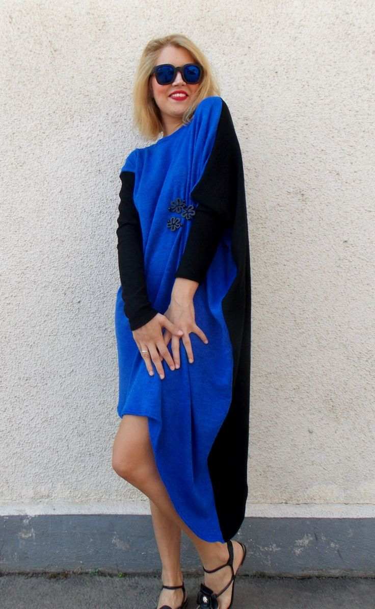 Now trending: Plus Size Asymmetrical Dress / Autumn Wool Dress / Oversize Extravagant Blue Dress TDK81 https://www.etsy.com/listing/199424238/plus-size-asymmetrical-dress-autumn-wool?utm_campaign=crowdfire&utm_content=crowdfire&utm_medium=social&utm_source=pinterest