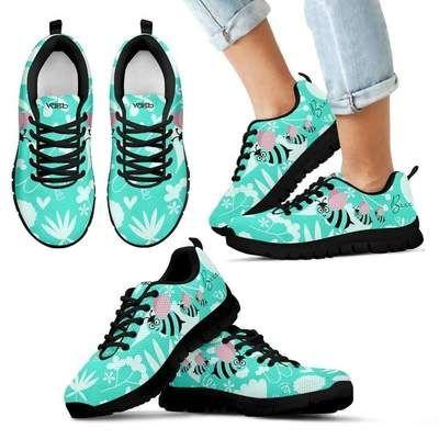 b7cf4c3f9ee47b KIDS Cute Bee - Breathable   Lightweight Running Shoes Black ...