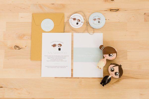 Convites de casamento bonitos, por Molde Design Weddings, parte 2