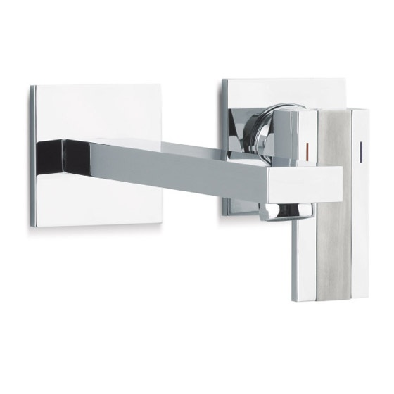 Neptune Fen wall faucet with waste included
