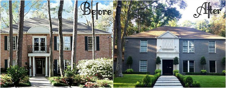 1000 Ideas About Exterior Makeover On Pinterest Brick Exterior Makeover Exterior Remodel And