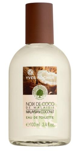 Yves Rocher's Malaysian Coconut Eau de Toilette an exotic smell! #yvesrocher #coconut #eaudetoilette