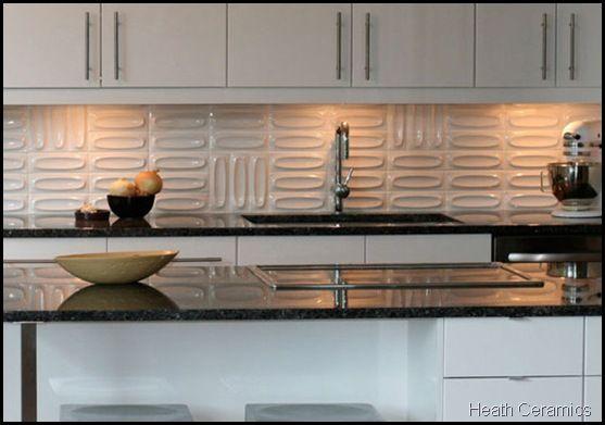 mid-century kitchen tiles