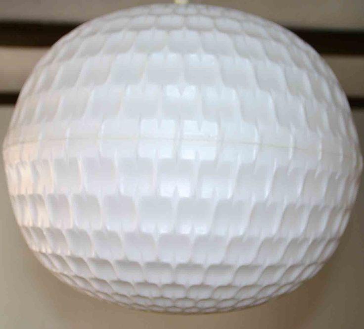 Holz Lampen Von Johan Lindstén ~ 70er JAHRE GOLFBALL LAMPE+SPACE AGE+ACRYLGLAS+PLEXIGLAS+SPUTNIK