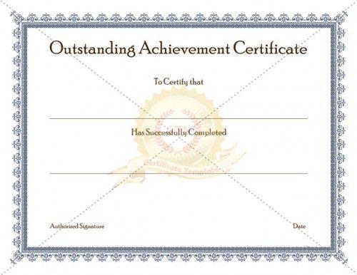 Best 20+ Certificate of achievement template ideas on Pinterest
