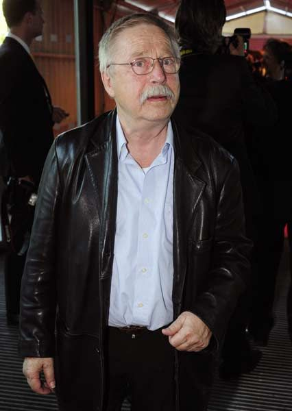 German singer-songwriter Wolf Biermann arrives at a ceremony to mark the centenary of Axel Springer, the founder of German Springer Verlag publishing group, in Berlin May 2, 2012.