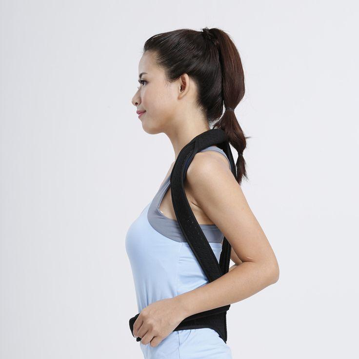 Black Brace Support posture corrector Brace Posture Corrector Scoliosis Correction Soft Orthopedic Fractures Posture 2017