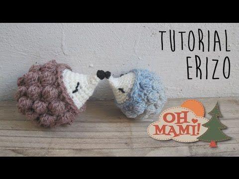 Erizo a crochet ( Amigurumi ) - YouTube