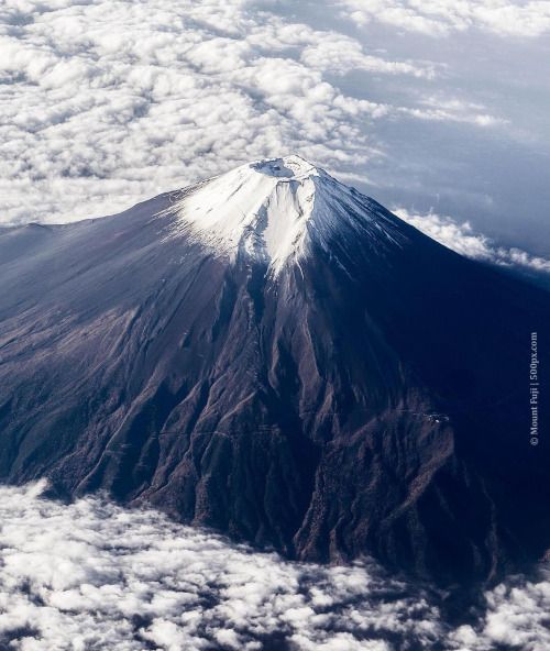 Mount Fuji Mountain in Japan