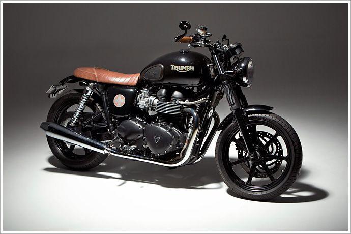Triumph Bonneville - Ellaspede - Pipeburn - Purveyors of Classic Motorcycles, Cafe Racers & Custom motorbikes