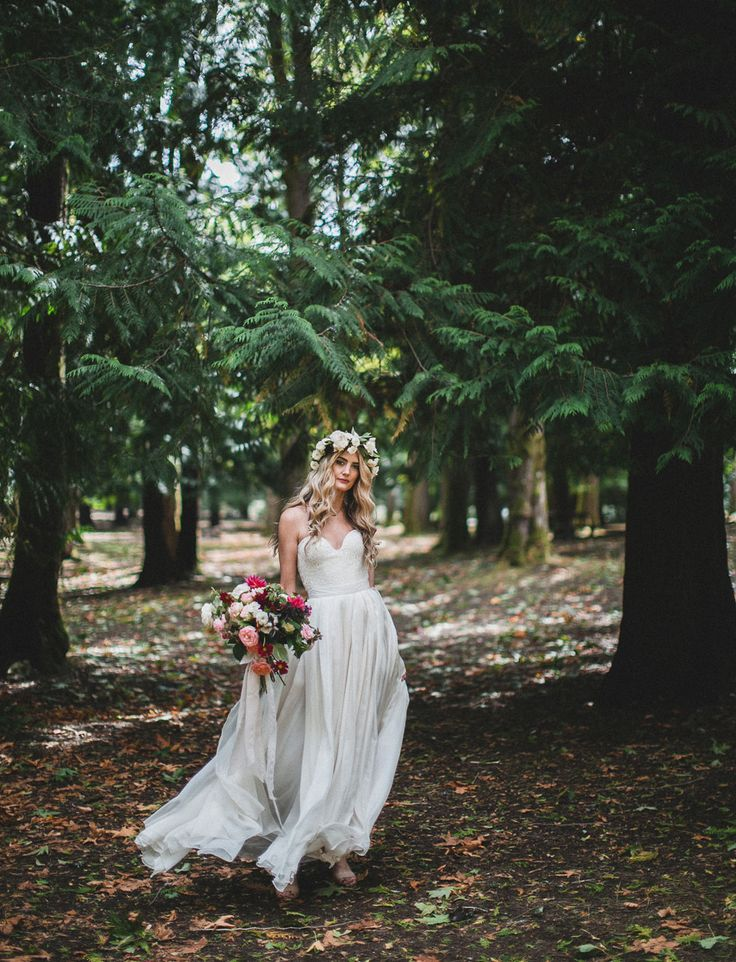 Sarah Seven wedding dress
