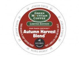 Green Mountain Coffee Autumn Harvest Blend Light Roast K Cups 24ct
