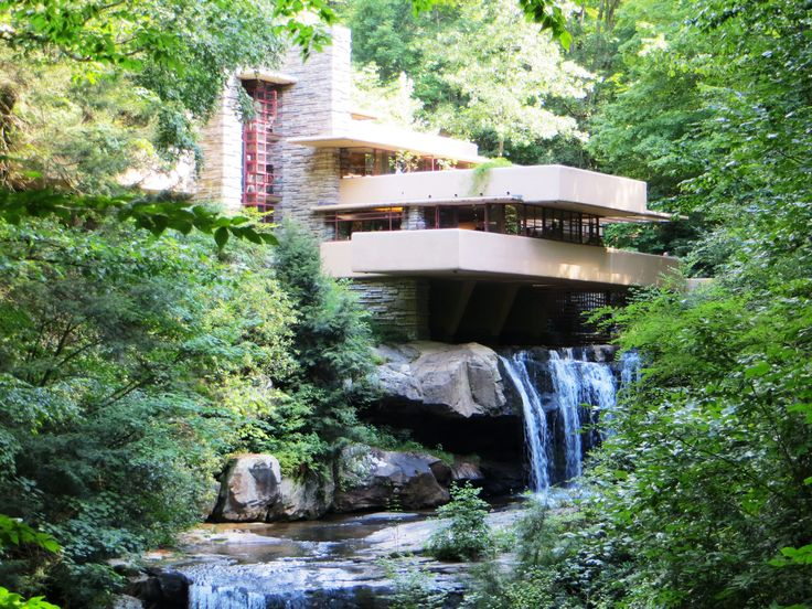 The greatest residental house ever designed fallingwater by frank lloyd wright