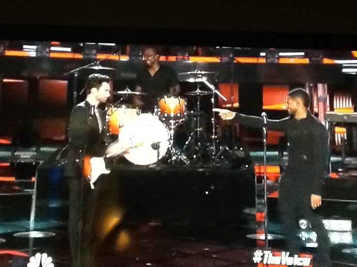 Adam AND Usher....!!!!!!