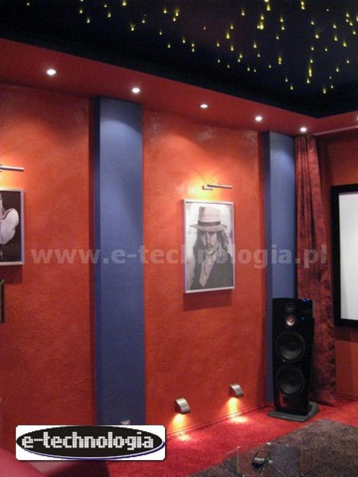 projekt kina domowego - kino domowe do małego salonu - kino domowe w pokoju e-technologia