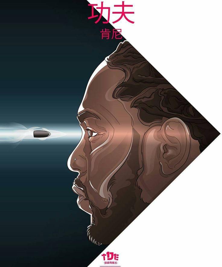 "1,493 Likes, 10 Comments - Kendrick Lamar (@onkendricklamar) on Instagram: ""@vadivisuals 🙌 #kendricklamar"""