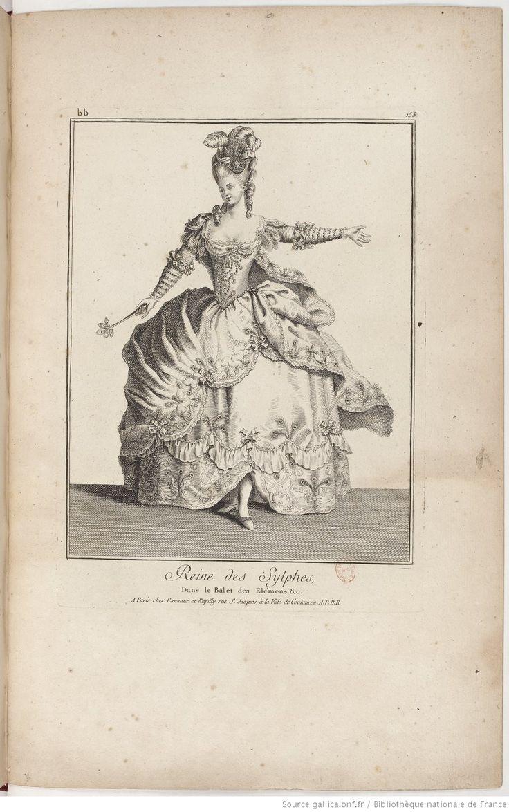 Galerie des modes et costumes français / dessinés d'après nature, gravés par les plus célèbres artistes en ce genre; et colorés avec le plus grand soin par Madame Le Beau : ouvrage commencé en l'année 1778 -- 1778-1785 -- livre