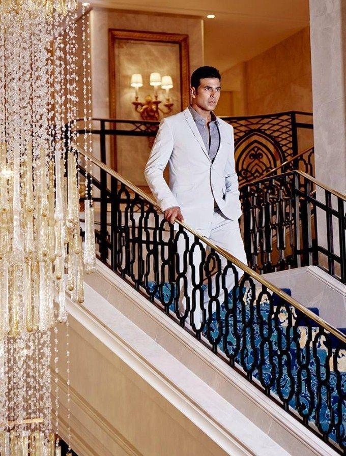 Akshay Kumar for Man Magazine. #Style #Bollywood #Fashion #Handsome