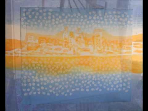 'Perth City Sunrise' - painting - Alan Hogan #timelapse #perthwa #skyline #paintings #artists #art #konst #konstnär #taide #pintura #city #australia #australian #cities #cityscapes #easel #nagohnala #artgaragefinland