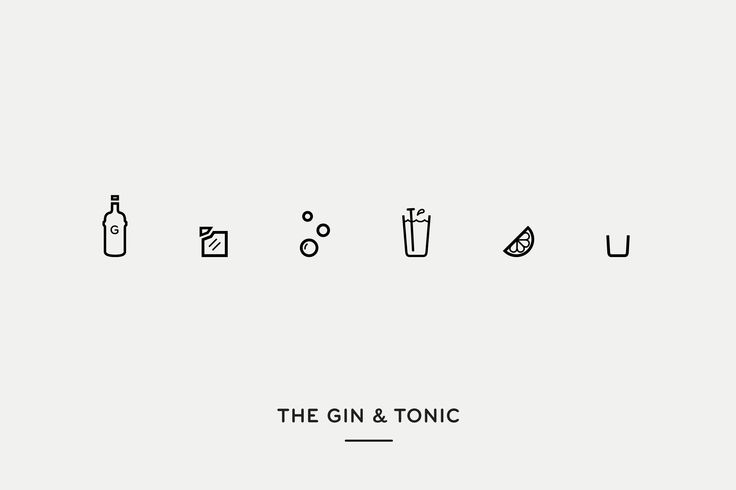 Mixionary. A website which demystifies the art of cocktail making using iconography. By Maud,
