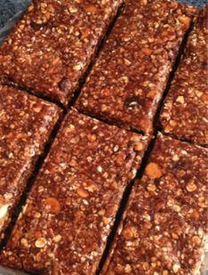 Sans cuisson Barres au chocolat de protéines allemand