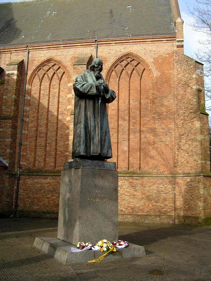 Jan Amos Comenius, Marktstaat, Vesting, Naarden.