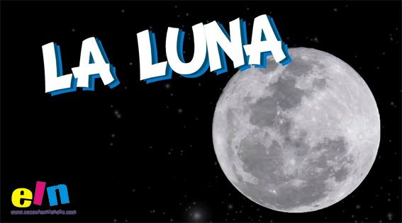Fases de la luna. Fichas para aprender