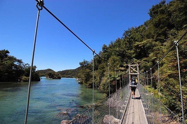 A walk to remember. #NZMustDo [Abel Tasman National Park, Nelson. : @maren_explores]  #Travel #NewZealand #NZ #Nature #Hiking