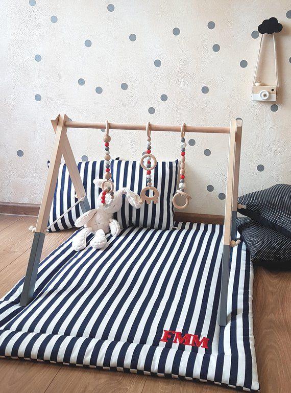 Personalised Playmat Baby Play Mat Nursery Decor Baby Kids Playmat Baby Boy Rooms Diy Baby Stuff