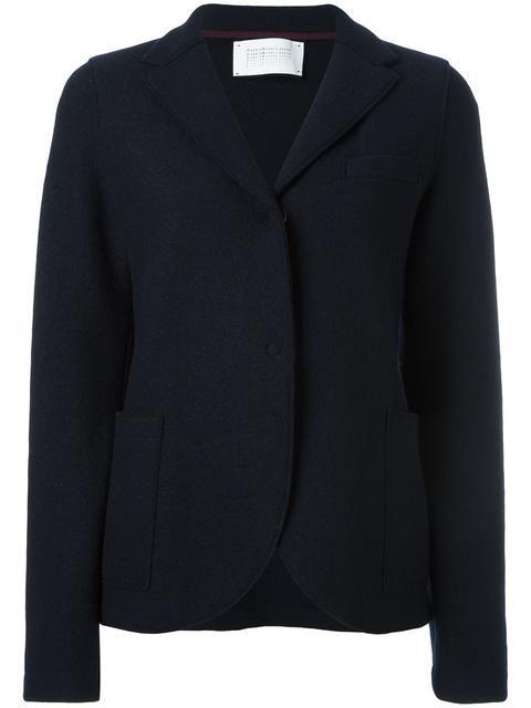 HARRIS WHARF LONDON patch pockets blazer. #harriswharflondon #cloth #taschen