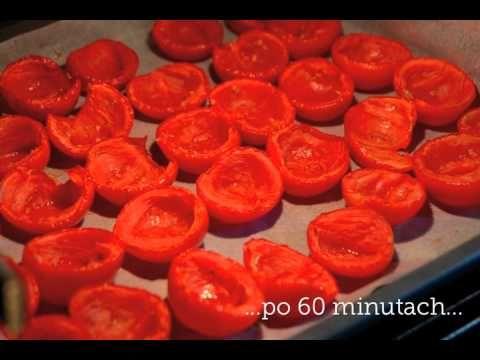 Suszone pomidory przepis - domowe pomidory suszone w piekarniku