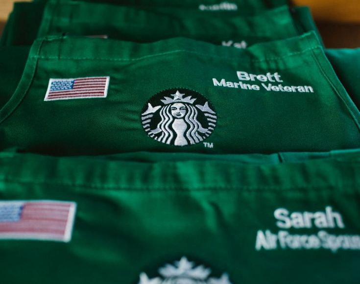 Boycotting Starbucks? Read this dummy. Starbucks Armed Forces Network, an internal veteran group, shared the following message about Starbucks commitment to hiring veterans and spouses.