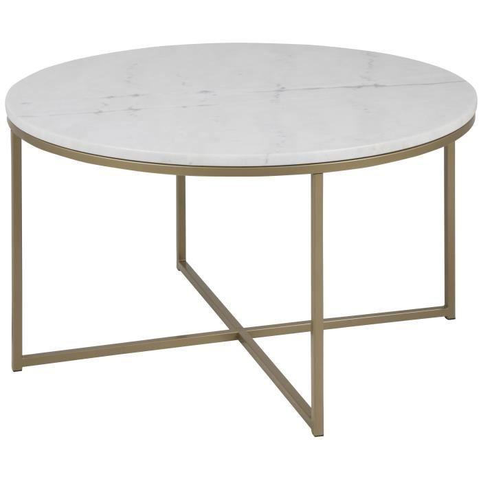 Cdiscount Com Table Basse Marbre Table Basse Marbre Blanc Table Basse