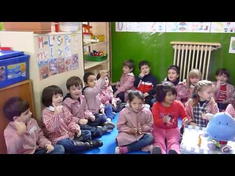 5 años B Bonjour mes amis another channel of french fingerplays gesture games