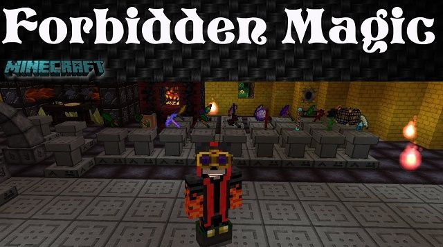 Forbidden Magic Mod for Minecraft 1.7.10  - MinecraftIO.Com -   The Forbidden Magic Mod for Minecraft created by author SpiteFox is a medium-sized mod written as a great add-on for another mod of Thaumcraft.  #Minecraft1710Mods -  #MinecraftMods