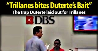 The trap Duterte laid out for Trillanes & the reason he invented a DBS Bank Account No. SHARE
