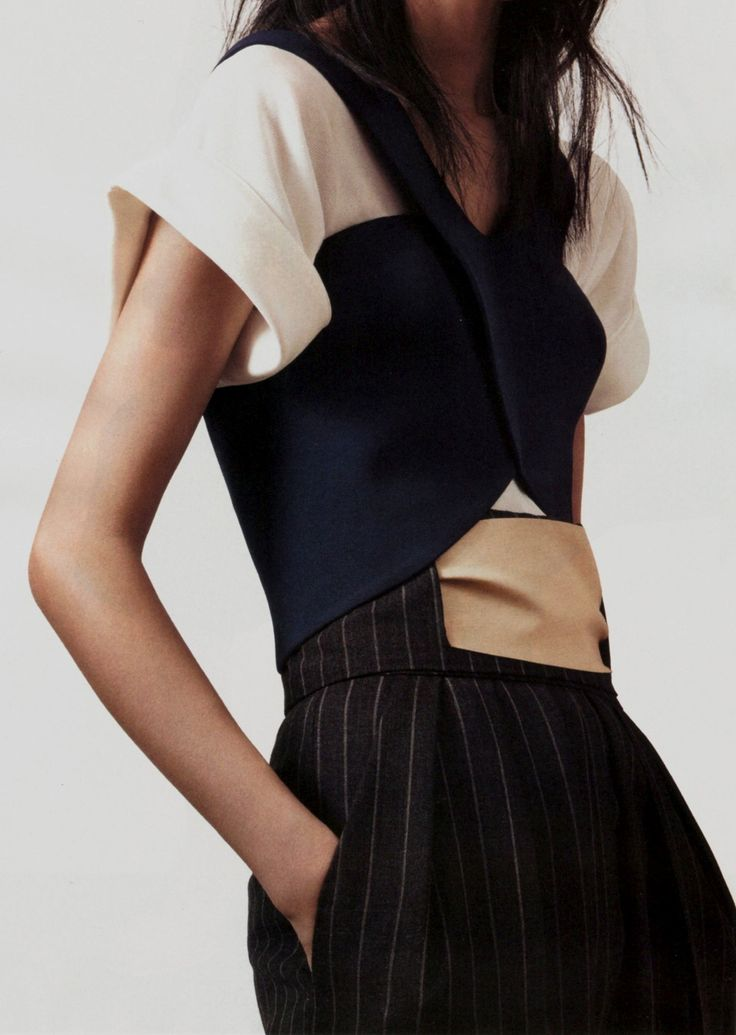 Masculine Impression by Amy Troost for #Vogue China January 2013 | Balenciaga love