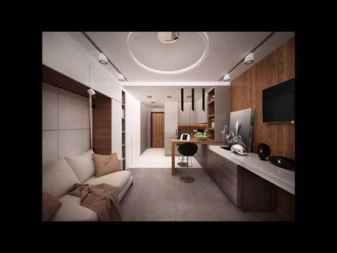 Дизайн-проект маленькой квартиры-студии 25 кв. м.