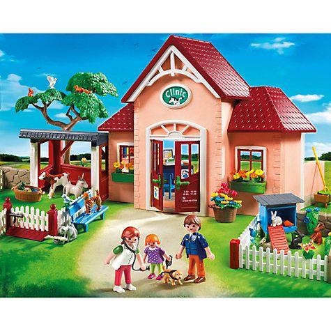 Buy Playmobil City Life Vet Clinic Online at johnlewis.com